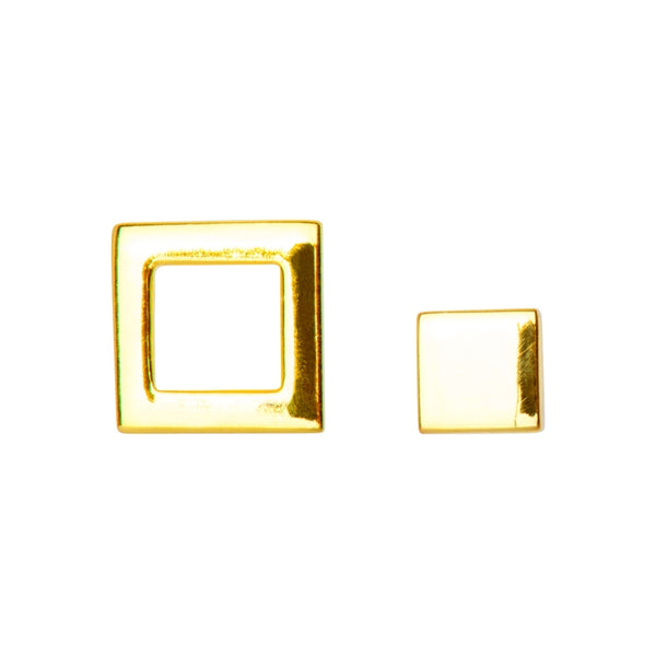 LULU Copenhagen FAMILY EARRINGS PAIR - SHINY Earrings, pairs Gold Plated