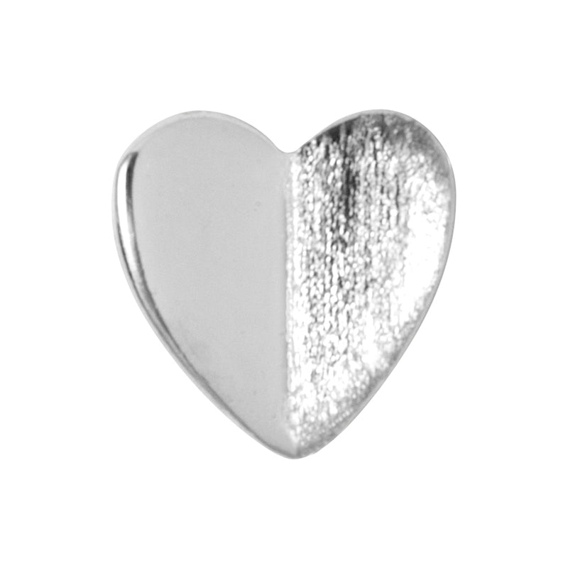 LULU Copenhagen HEART WINGS 1 PCS Ear stud, 1 pcs Silver