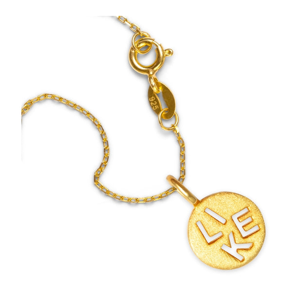 LULU Copenhagen LIKE Pendents Gold Plated