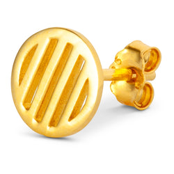 LULU Copenhagen LOLLY LARGE 1 PCS Ear stud, 1 pcs Gold Plated