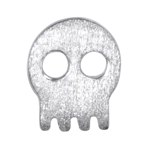 LULU Copenhagen SKULLY 1 PCS Ear stud, 1 pcs Silver