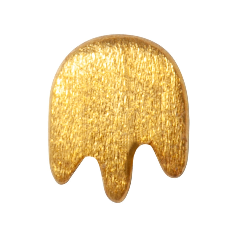 LULU Copenhagen SPLASH 1PCS Ear stud, 1 pcs Gold Plated