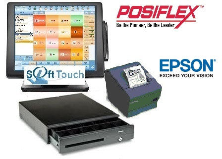 Add Computer, Cash Drawer, Receipt Printer, and Softtouch License