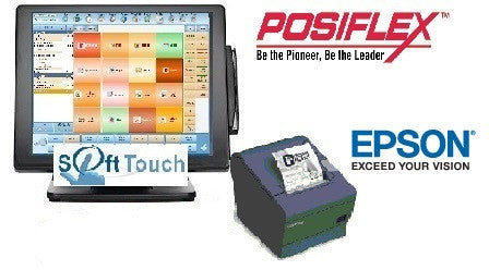 Add Computer, Receipt Printer, and Softtouch License