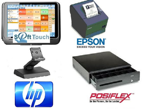 Complete HP ElitePad System for Restaurants