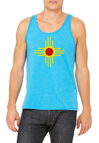 License Plate Zia - Unisex Tank Top