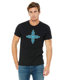 Zia Black T-shirt New Mexico