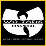 Wutang Financial Design T-shirt - Guerrilla Graphix - Tee Shirt - Short Sleeved