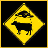 UFO Cattle Crossing T-Shirt
