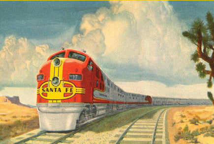 Santa Fe Super Chief Postcard