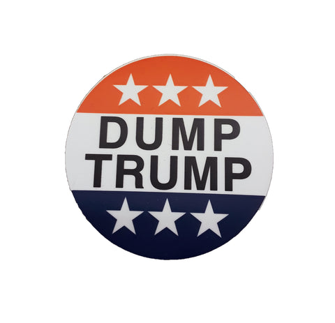DUMP TRUMP - Vinyl Sticker