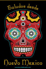 NM Sugar Skull Postcard
