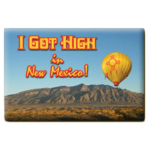 High in New Mexico Magnet