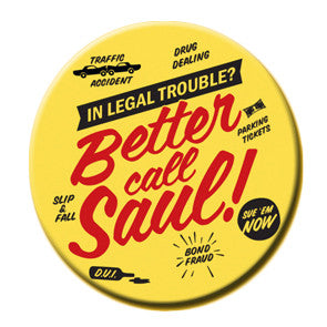 Better Call Saul Round Magnet