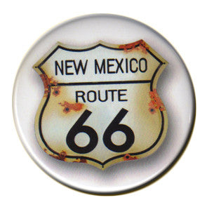 RT 66 Roadsign Distressed Magnet