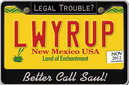 LWYRUP Better Call Saul Postcard