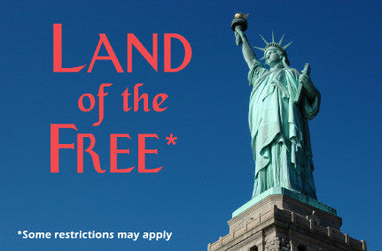 Land of the Free Postcard