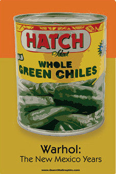 Hatch Chile - Warhol The NM Years Postcard