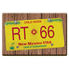 RT 66 License Plate Magnet