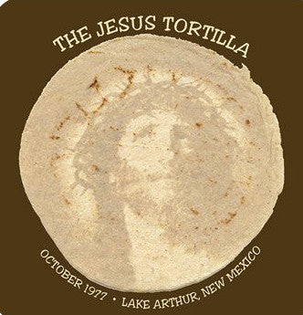 The Jesus Tortilla - Lake Arthur, NM  Postcard