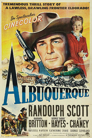 Albuquerque the Movie Postcard
