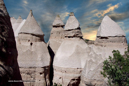 Tent Rocks, New Mexico Postcard