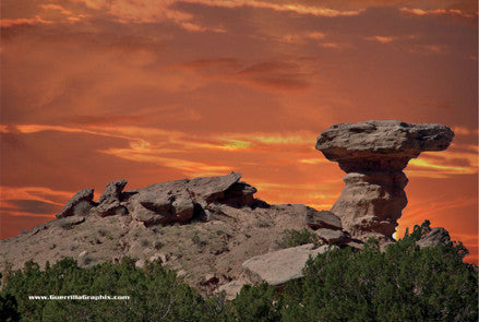 Camel Rock Monument Tesuque, New Mexico Postcard