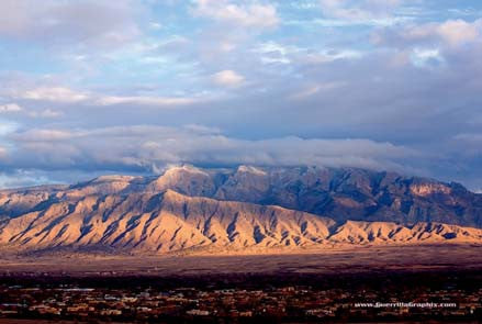 Sandia Mountains Postcard