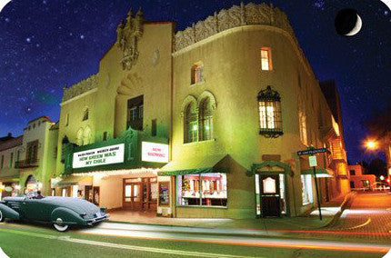 The Lensic Theater Postcard