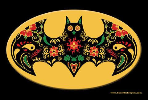 New Mexico Sugarbat Skull postcard