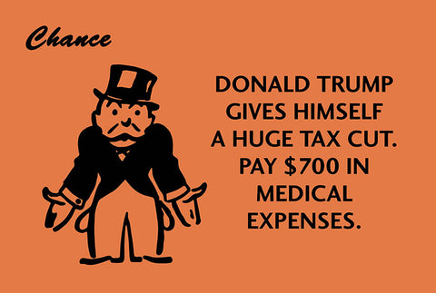 Trump's Tax Cut Postcard