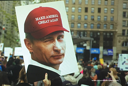 Make America Great Again (Putin) Postcard
