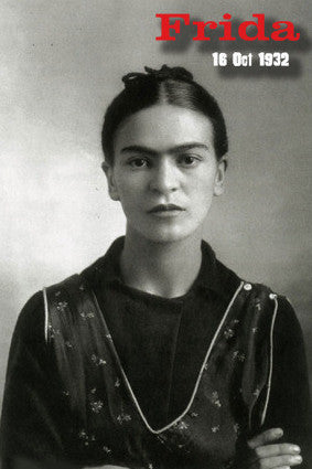 Frida Portrait Postcard