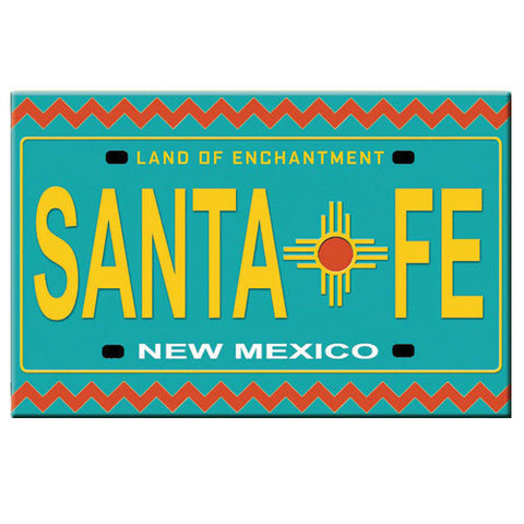 Santa Fe, New Mexico Magnet