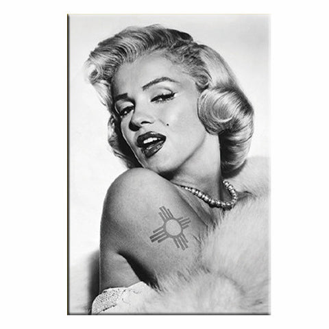 Marilyn's Zia Tattoo Magnet - Wholesale NM Gifts - Guerrilla Graphix