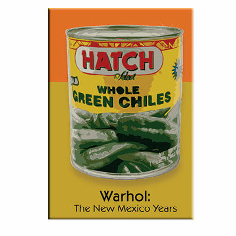 Hatch Chile Can Warhol: NM Years Magnet