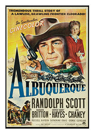 Vintage Albuquerque the Movie Poster Magnet