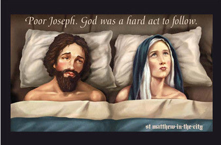Joseph and Mary Postcard