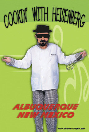 Cookin' with Heisenberg Postcard