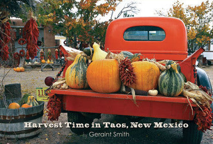 Harvest Time in Taos Postcard