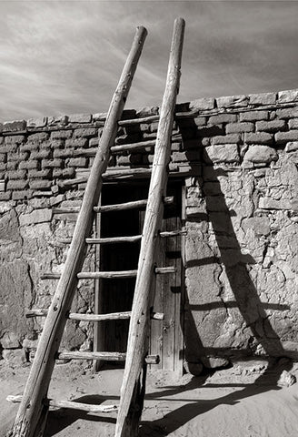 Acoma Ladder Postcard