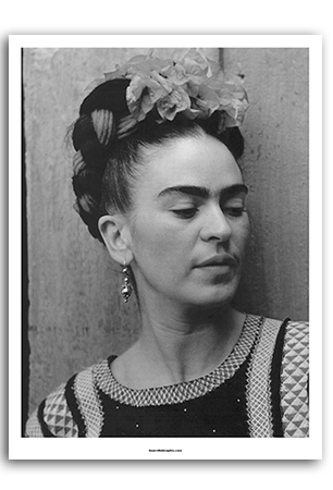 Frida Portrait Art Print