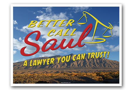 Lawyer You Can Trust Art Print