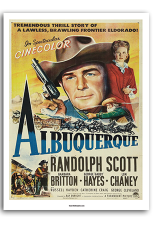 Albuquerque (The Movie) Art Print