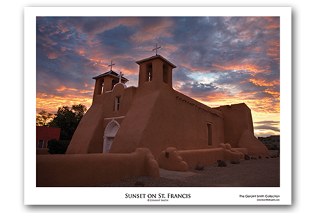 Sunset on St. Francis Art Print by Geraint Smith