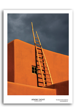 Adobe Light Art Print by Geraint Smith
