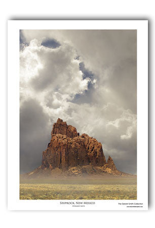 Shiprock - New Mexico Art Print