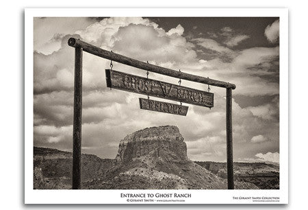 Ghost Ranch Entrance Art Print by Geraint Smith