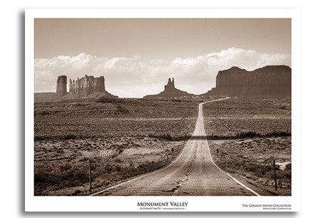 Monument Valley Art Print by Geraint Smith