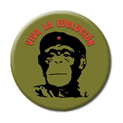 "Viva Evolucion! - 2.25"" Pin Back Button"
